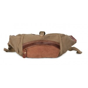 stylish men canvas waist bag