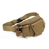 khaki Canvas belt bag