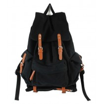 Mens canvas backpack rucksack