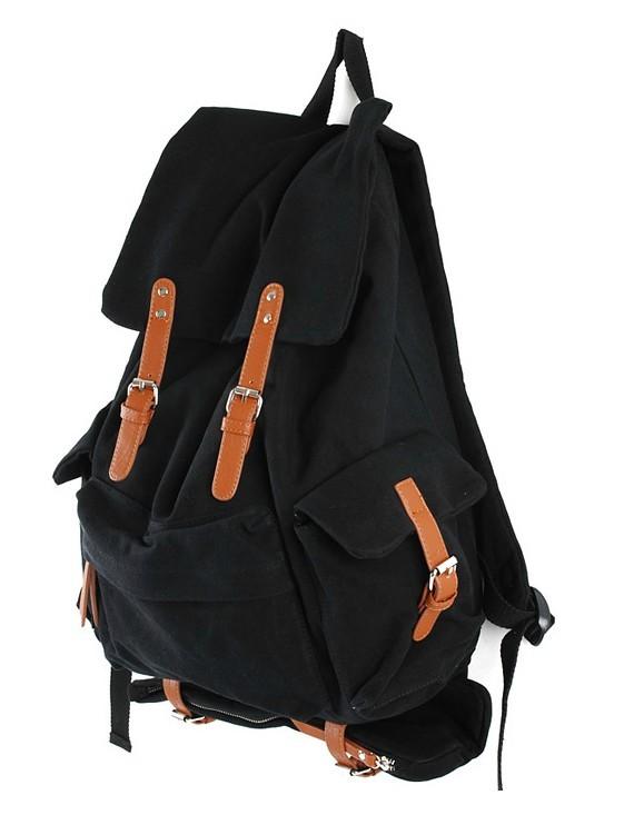 Mens canvas backpack rucksack, popular backpack - YEPBAG
