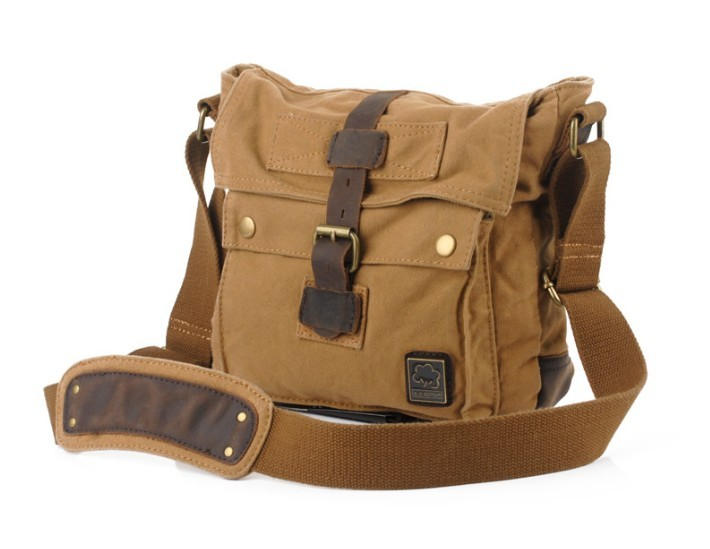 Men'S Small Canvas Shoulder Bags 85
