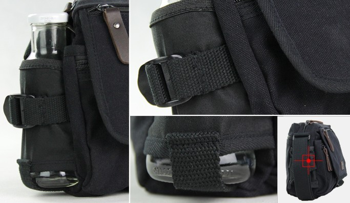 ... black shoulder bags for school  army green Mens canvas ... f34fd5f732157