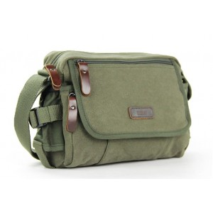 army green canvas shoulder bags for school