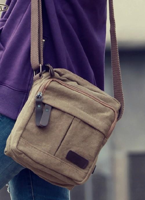 252db081d2 ... mens small canvas shoulder bag ...