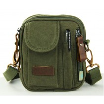 Small canvas messenger bags for men