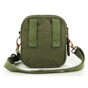 army green canvas messenger bags for men