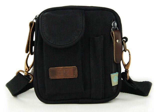 Small canvas messenger bags for men, mens small canvas satchel ...