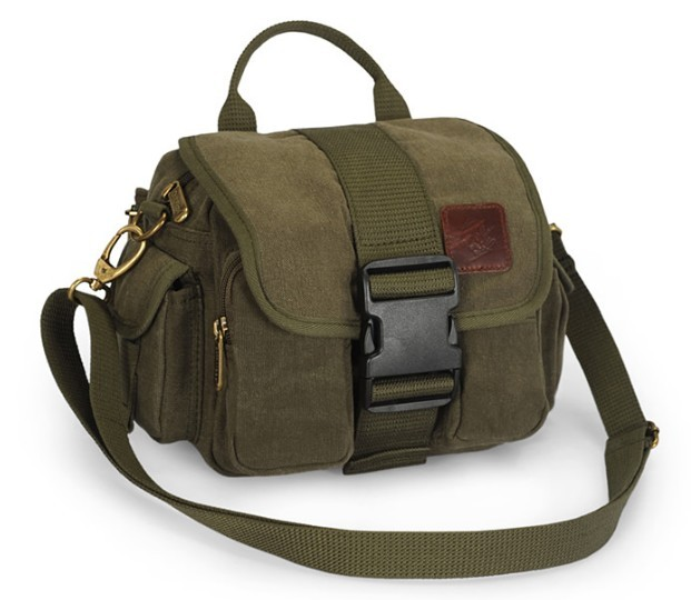 Cool messenger bag, canvas belt pouch - YEPBAG