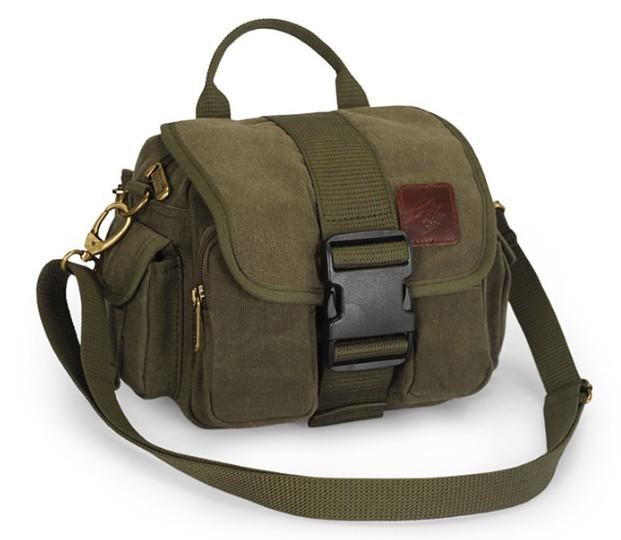 Cool messenger bag, canvas belt pouch - YEPBAG