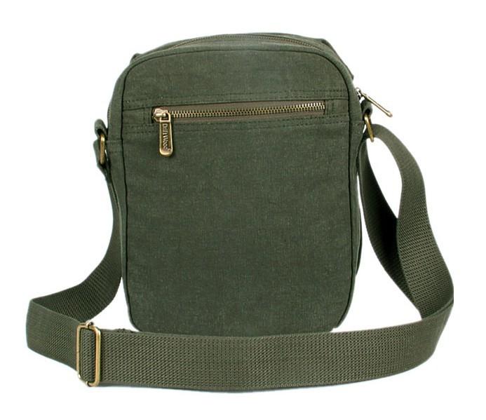 ... small canvas shoulder bag  army green canvas messenger bag ... f83c5508fb5c4