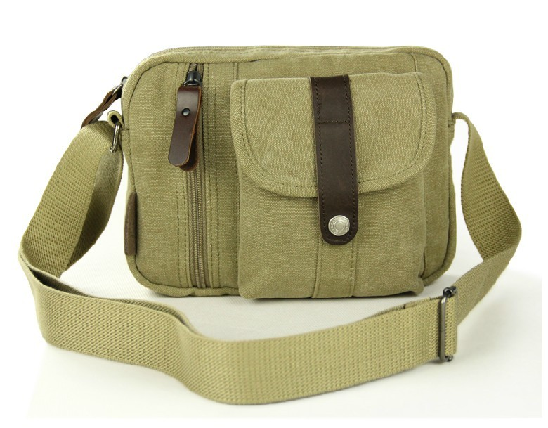 Khaki Messenger Bag Purse